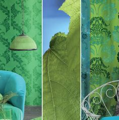 Emerald, the face of at Designers Guild Pierre Frey, Designers Guild, Pantone 2017 Colour, Tricia Guild, My Dream Home, Interior Styling, Surfboard, Greenery, Paint Colors