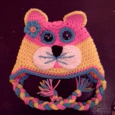 Kitty Kat Ear-Flap Hat