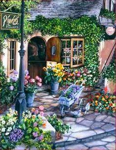 'Romantic Cottage Garden'