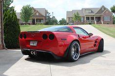 Widebooty Corvette C6