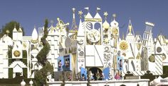 """Did you know? At the dedication of """"it's a small world"""" in 1966, children from many nations helped Walt Disney pour waters from around the world into the attraction flume."""