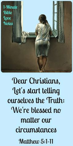 Maria Chapian, Telling Yourself the Truth, Christians are blessed no matter circumstances