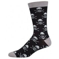 Skull+Bamboo+Socks+(Mens)
