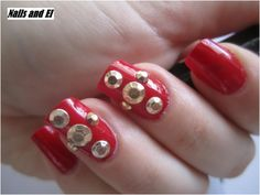 Day 25 - Inspired by a fashion http://nailsandel.blogspot.cz/