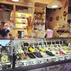 Gelato! Italian ice cream. The best in the world!