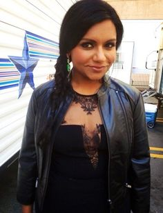 Mindy Kaling. The Mindy Project.