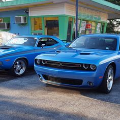 High-performance birthright. (: Andrea V.) #ThatsMyDodge #Dodge #Challenger…