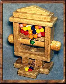 Square Gumball Machine