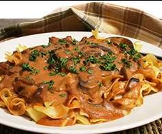 Beef Stroganoff by A Thermomix ® recipe in the category Main dishes . Beef Stroganoff b Pasta Recipes, Crockpot Recipes, Dinner Recipes, Cooking Recipes, Dinner Ideas, Thermomix Recipes Healthy, Savoury Recipes, Meal Ideas, Yummy Recipes