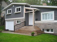 side split house exterior - Google Search