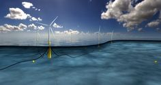World's Largest Floating Wind Farm Gets Green Light. So far, floating turbines have been small, like the one built by the Fukushima Wind Offshore Consortium. But now Norway's Statoil will build Hywind Scotland Real Estate Companies, Renewable Energy, Solar Energy, Champs, Offshore Wind Farms, Farm Projects, Solar Water Heater, Set Sail, Parks