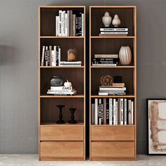 Home Library Design, Modern Home Interior Design, Living Room Wall Units, Living Room Decor, Diy Furniture, Furniture Design, Pinterest Room Decor, Shelf Arrangement, Room Design Bedroom