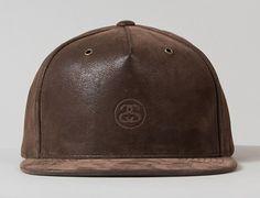 Mini SS Nubuck Strapback Cap by STUSSY