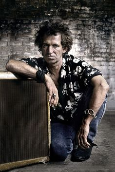 Keith Richards, NY 1992 © Claude Gassian,