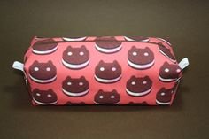 Boxy Makeup Bag - Cookie Cat from Steven Universe Zipper - Pencil Pouch for $12 +s&h by JustPeachyHandmade on Etsy