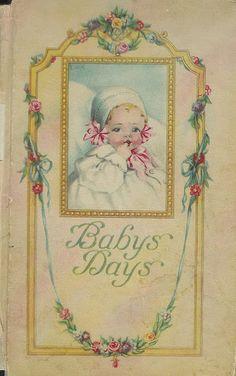 Baby book, via Flickr.