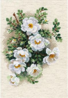 Everything Cross Stitch - White Briar