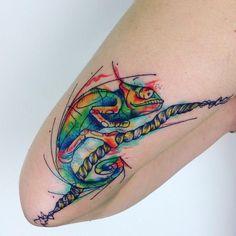 chameleon tattoo27
