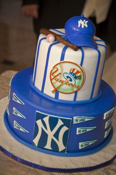 new york yankees grooms cake