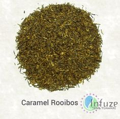 Caramel Rooibos: Whether in a candy, drink or dessert, caramel is a treat for the taste buds. Why not translate it to your tea-drinking experience? This delectable, naturally caffeine-free and sugar-free blend features rich notes of caramel down to the last drop.
