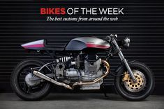 The star of our latest Custom Bikes Of The Week: Moto-Studio's muscular Moto Guzzi 1100 Sport cafe racer.