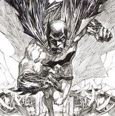 StuffNThings - Batman by Marc Silvestri. Comic Book Artists, Comic Artist, Comic Books Art, Dc Comics Art, Batman Comics, Example Of Comics, Popular Artists, Call Art, Comics Universe