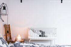 Baby bed / Scandinavian interior / bedroom