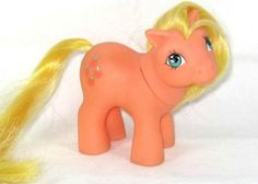 My Little Pony from the 90's. Applejack... I had this one!