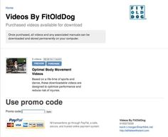 Body Awareness training videos by FitOldDog