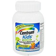 CENTRUM KIDS CHEWABLE TABS 80 BY HERBAL MEDICOS