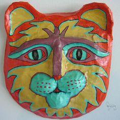 Cat Mask - RuthArt by RuthArt, via Flickr