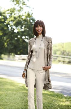 Selma Space Dye Cardigan #WildAbout30 #chicos Chico's Renaissance at Colony Park 601.853.2421 #shoprenaissance