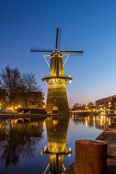 Molen De Noord - Tallest windmill on the planet, Schiedam. Flickr - Photo Sharing!