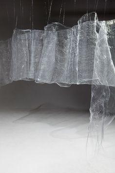 Lines in Space - Liliya Sotirova  Monofilament dobby doublecloth weave
