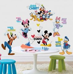 Mickey Mouse and Friends Appliques