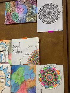 Office Supplies, Notebook, Art, Mandalas, Art Background, Notebooks, Kunst, Stationery, Gcse Art