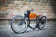 Rowery elektryczne w wersji retro