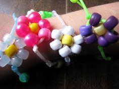 Daisy Flower Bracelet ~