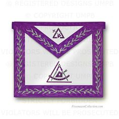 'Cryptic Masons - Royal and Select Masters Apron - R Regalia
