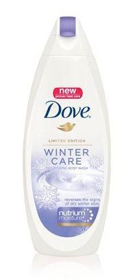 Dove® Winter Care Body Wash with NutriumMoisture® Love love love! this stuff, perfect for people with dry skin in the winter (like me). :)