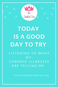 Your chronic illness is talking. Are you listening? The key to living well with a chronic illness like fibromyalgia and psoriatic arthritis is learning to listen to what they are telling you and then attending to those needs. The Disabled Diva shares this and other chronic pain survival tips on her blog. Visit it today!