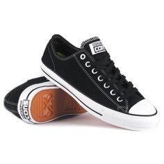 Zapatillas/Sneakers/Mens Converse All Star Ctas Pro Ox Black White 144585C