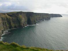 Dramatic coastline.  Rolling green hills.  The blue-green sea.  Someday.  Cliffs of Moher  |  Ireland