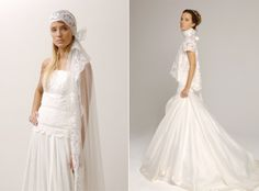 Delphine Manivet Wedding Dresses | OMG I'm Getting Married UK Wedding Blog | UK Wedding Design and Inspiration for the fabulous and fashion forward bride to be.