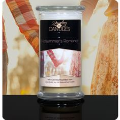 Midsummer's Romance Candle Get Extra Jewelry FREE!!  Order any Tart or Candle with jewelry in it from now till Aug. 5th and get a FREE extra piece of jewelry in your package!  https://www.jewelryincandles.com/store/barbs
