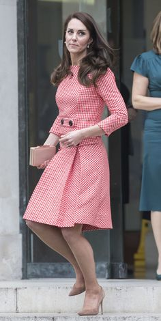 Catherine, Duchess of Cambridge attends the launch of maternal mental health films ahead of mother's day at Royal College of Obstetricians and Gynaecologists on March 23, 2017 in London, England. The educational films have been created by Best Beginnings, a charity partner of the Heads Together Campaign.
