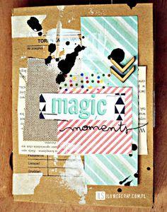 ILS - scrapbooking: Magic moments - a mini album