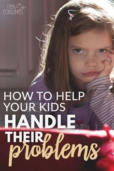 Kids struggle. Whether it's a sibling squabble or a relentless bully doesn't really matter. We need to be teaching our kids how to handle the problems that they face, so they will know how to look to God for the answers as they grow. You'll love these tips.