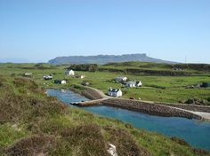 Muck Muck Where to Stay - rest up in the island's Yurt on the north side of the island with views of the Cuillins of Skye and the islands of Eigg, Rum and Canna. http://www.isleofmuck.com