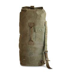 U.S. ARMY Duffel Bag Vietnam War Era